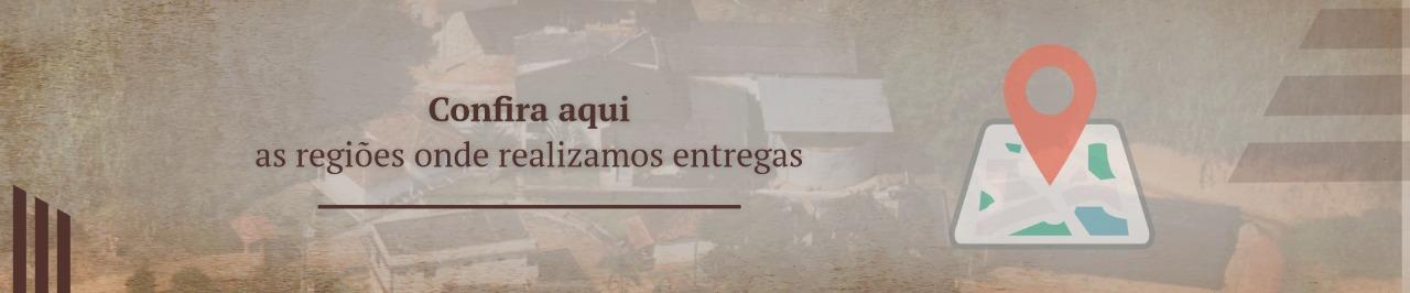 Localidades atendidas pela Cachaça Thimotina